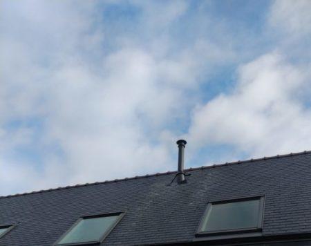 sortie de toit